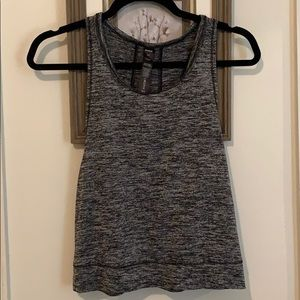 Cropped work out tank